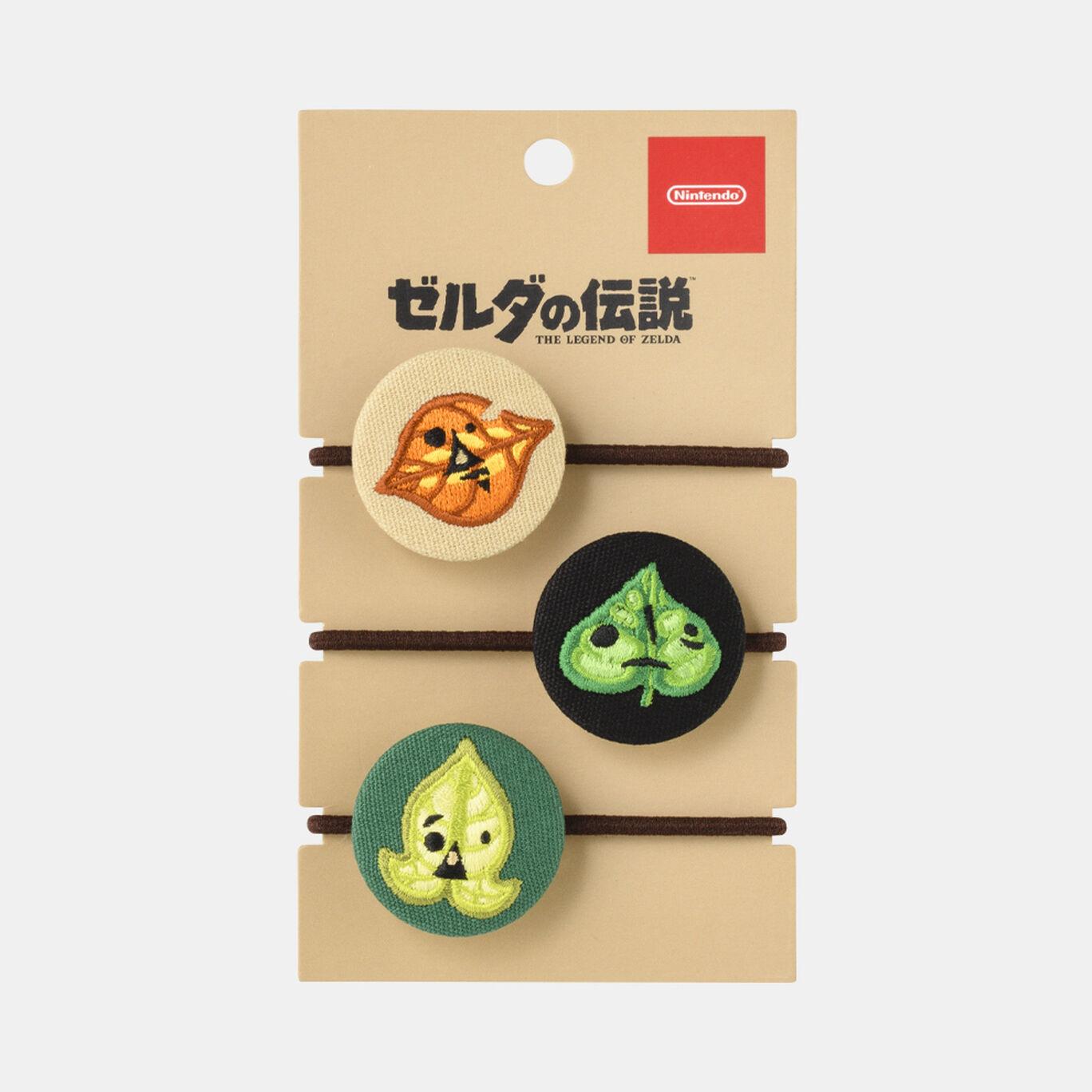 【新商品】コログのくるみボタンヘアゴムセット ゼルダの伝説【Nintendo TOKYO取り扱い商品】