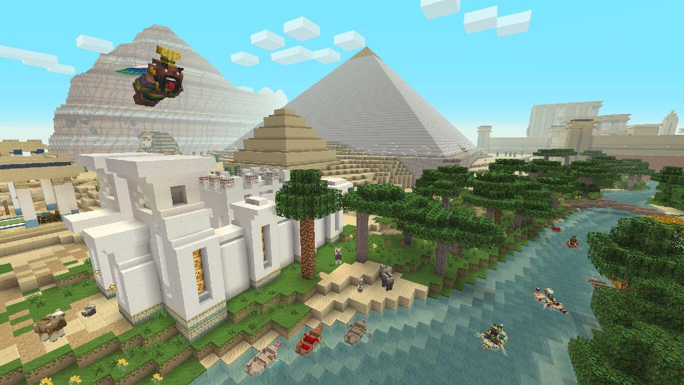 エジプト神話マッシュアップ