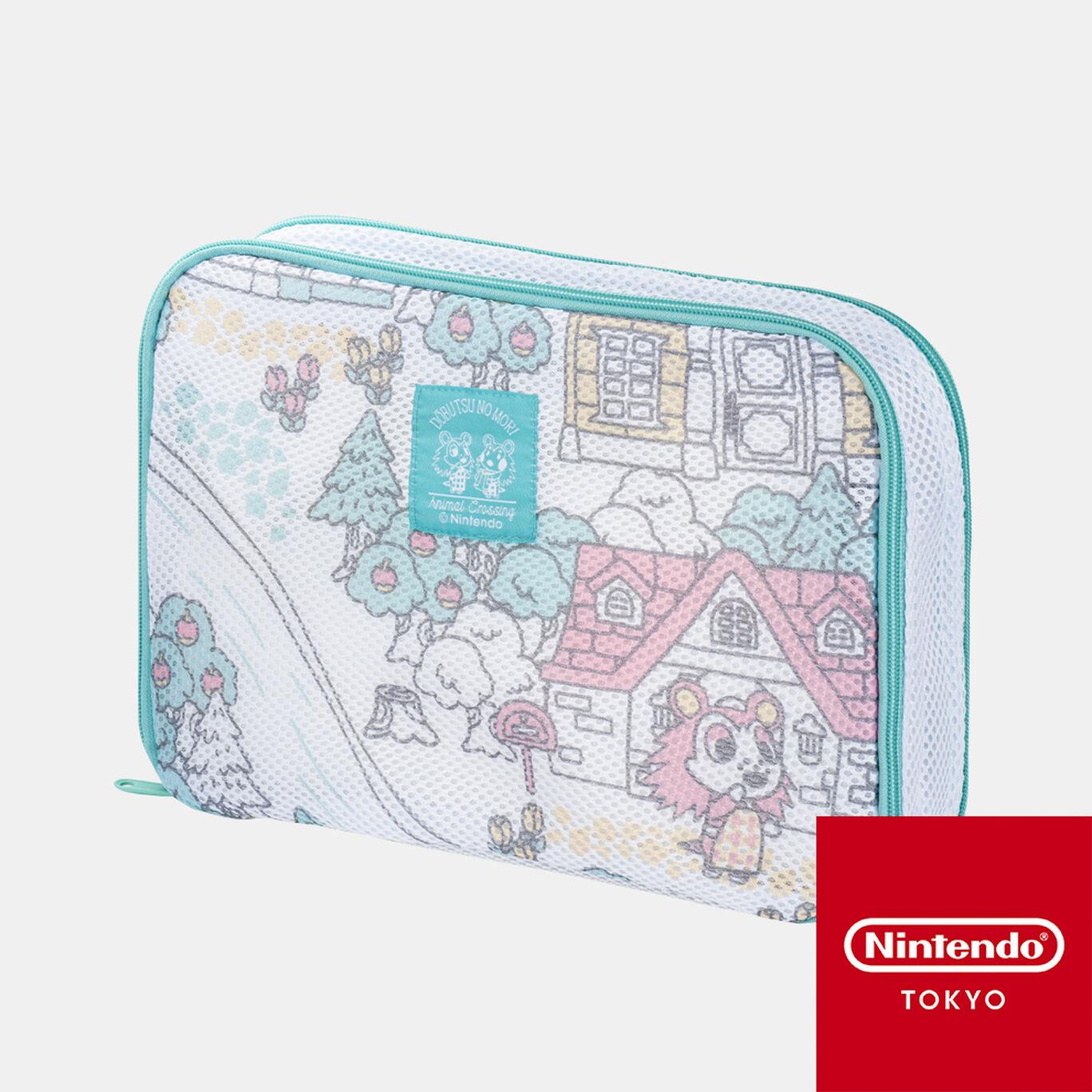 ランドリーネット L どうぶつの森【Nintendo TOKYO取り扱い商品】