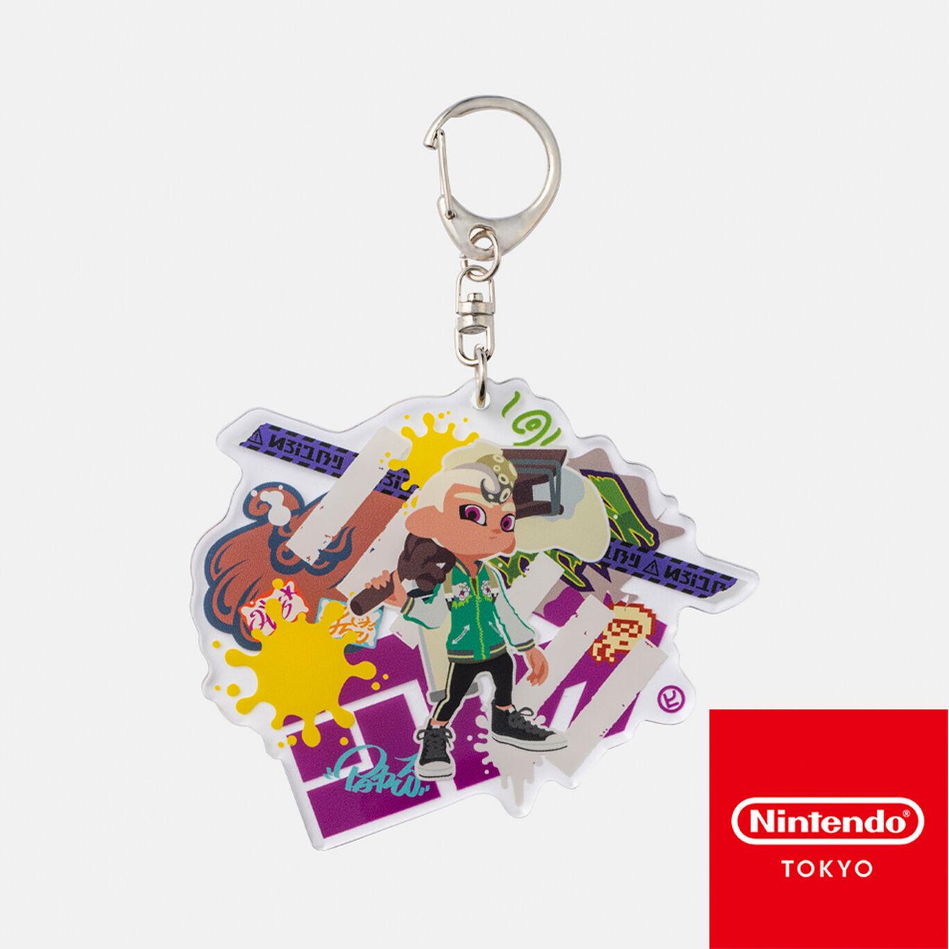 ビッグアクリルキーホルダー CROSSING SPLATOON D【Nintendo TOKYO取り扱い商品】