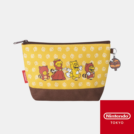 ポーチ スーパーマリオ パワーアップ C【Nintendo TOKYO取り扱い商品】
