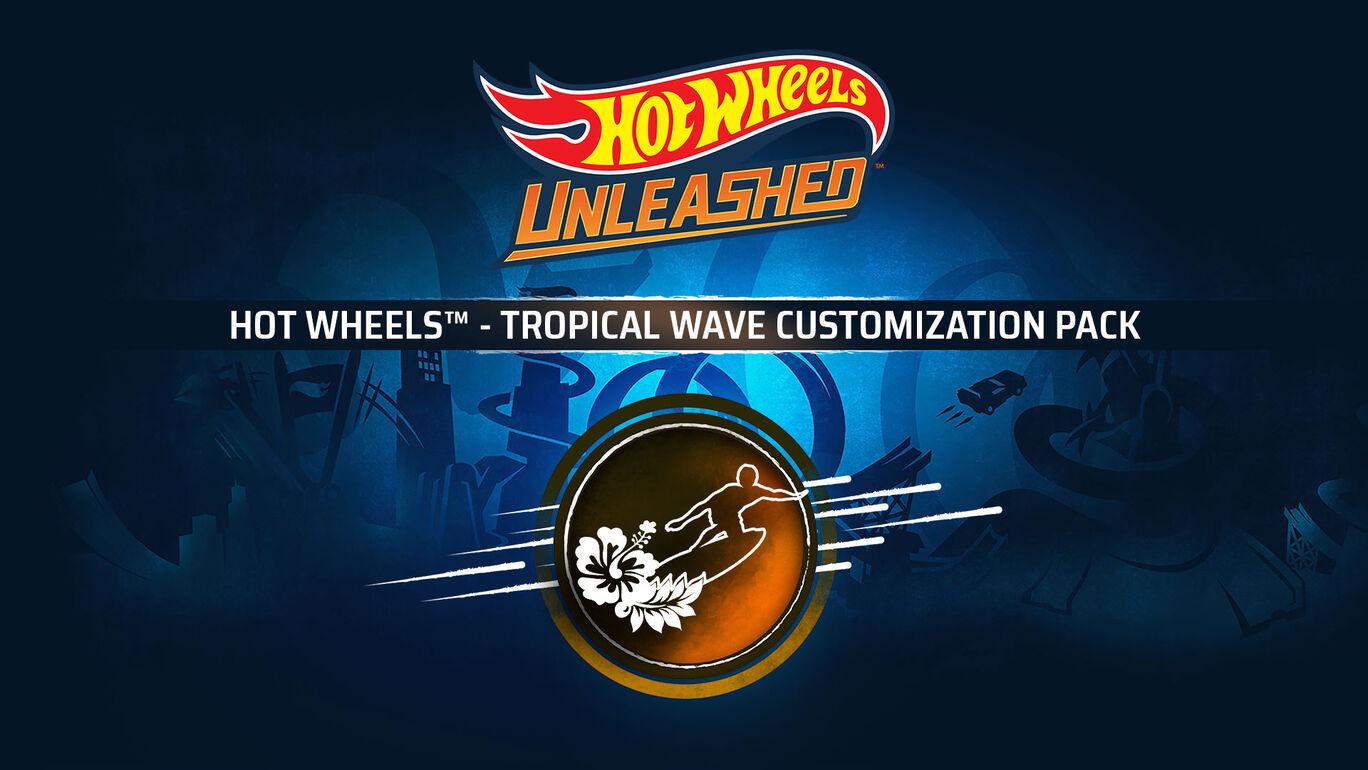 HOT WHEELS™ - Tropical Wave Customization Pack