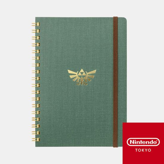 B6リングノート ゼルダの伝説 A【Nintendo TOKYO取り扱い商品】