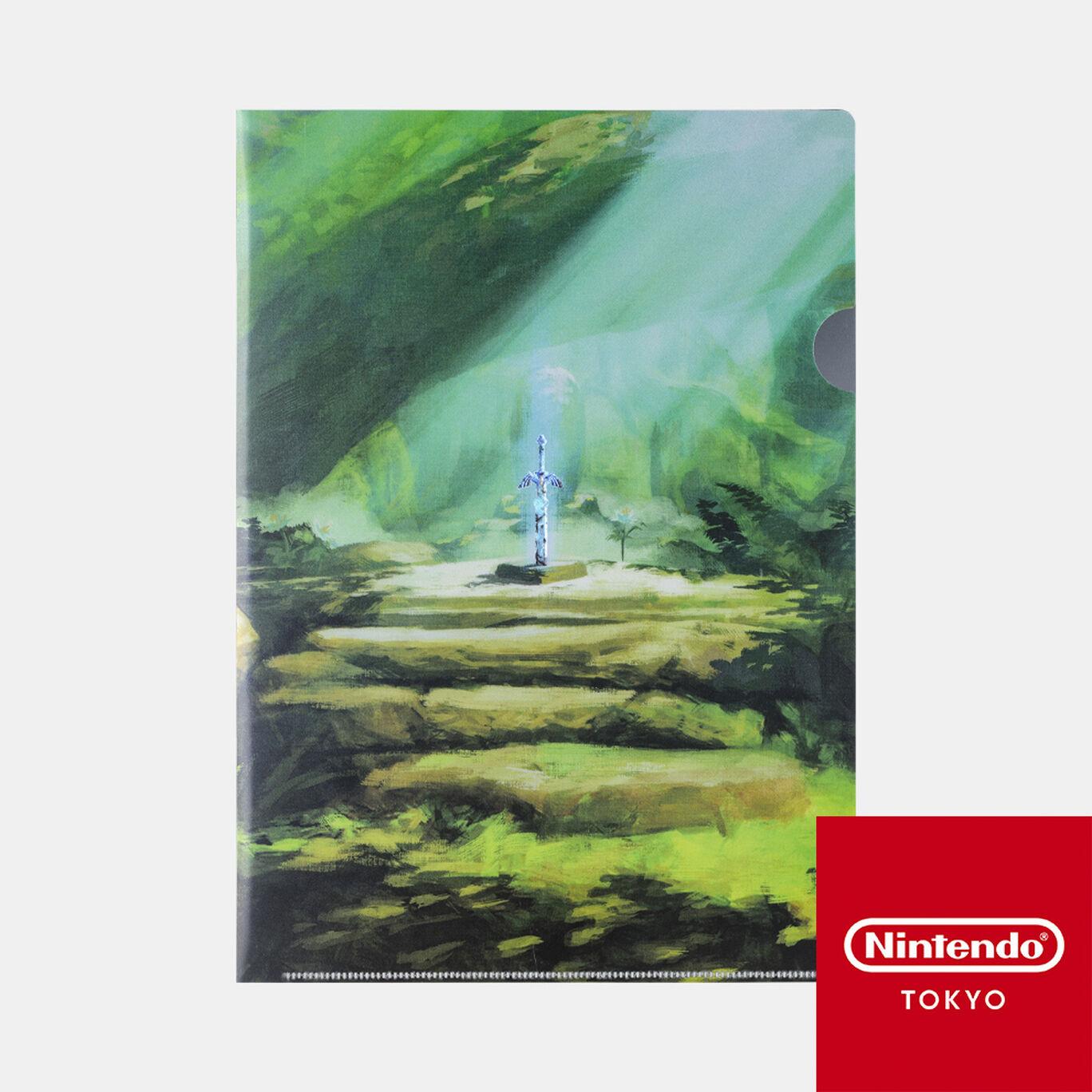 クリアファイル ゼルダの伝説 D【Nintendo TOKYO取り扱い商品】
