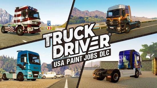 Truck Driver - USA Paint Jobs DLC