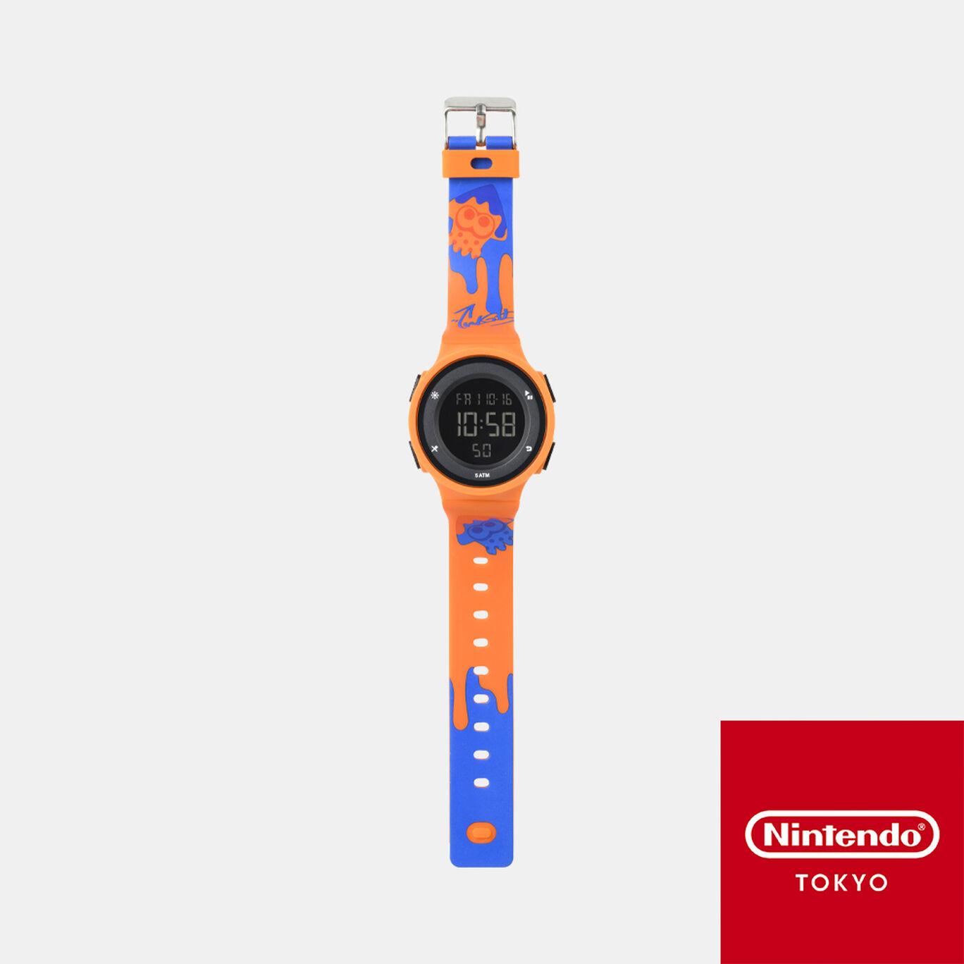 【新規追加商品】ウォッチ オレンジ INK YOU UP 【Nintendo TOKYO取り扱い商品】