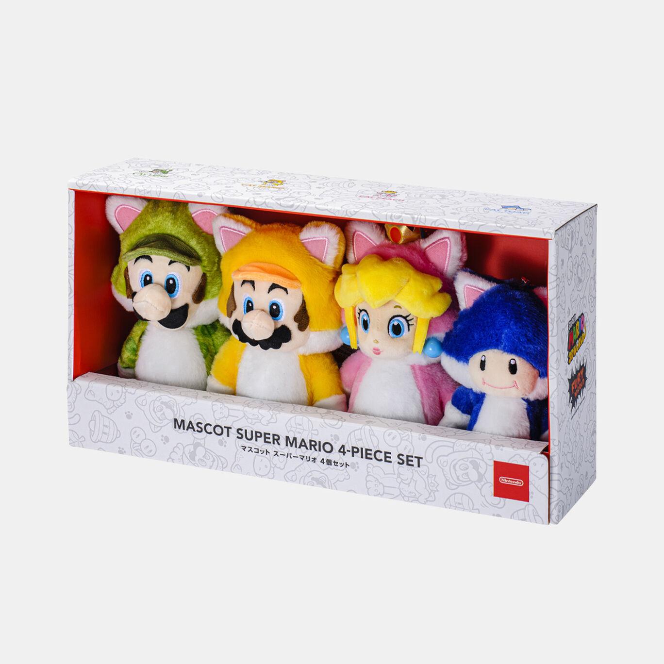 【新商品】マスコット スーパーマリオ 4個セット【Nintendo TOKYO取り扱い商品】