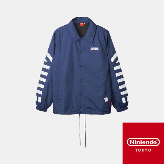 コーチジャケット CROSSING SPLATOON【Nintendo TOKYO取り扱い商品】