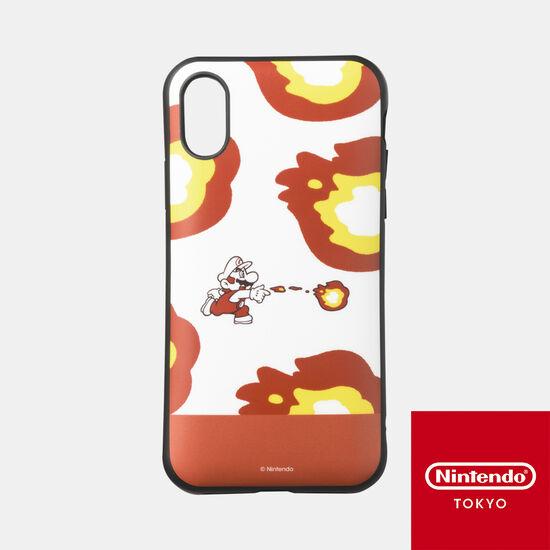 スマホケース スーパーマリオ パワーアップ A iPhone XS/X 対応【Nintendo TOKYO取り扱い商品】