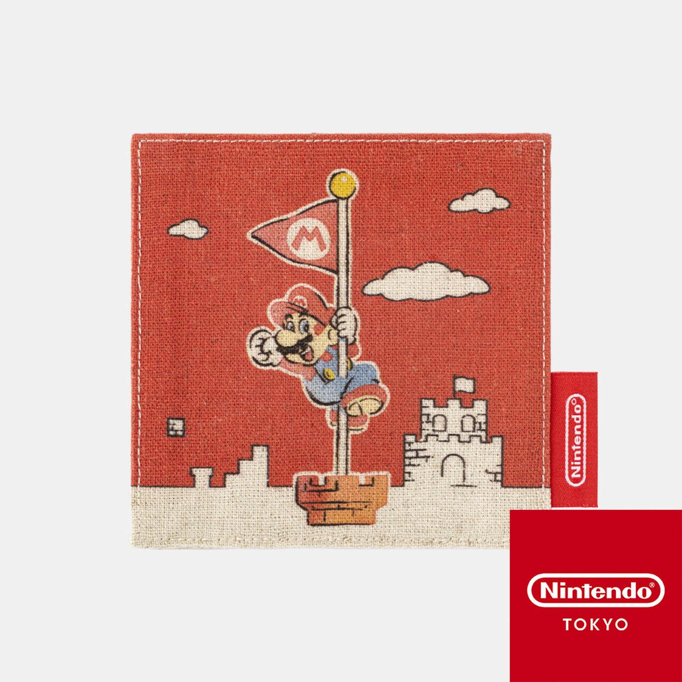 コースター スーパーマリオファミリーライフ マリオ【Nintendo TOKYO取り扱い商品】