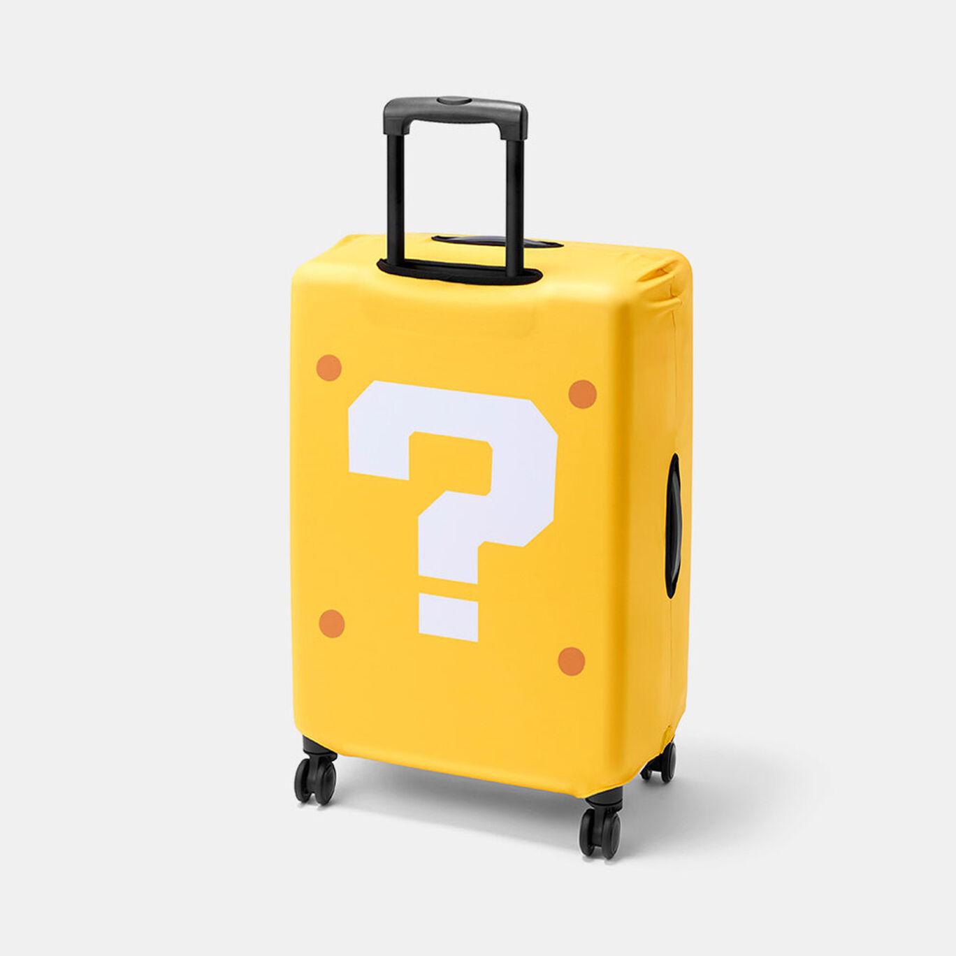 スーツケースカバー スーパーマリオ(ハテナブロック)