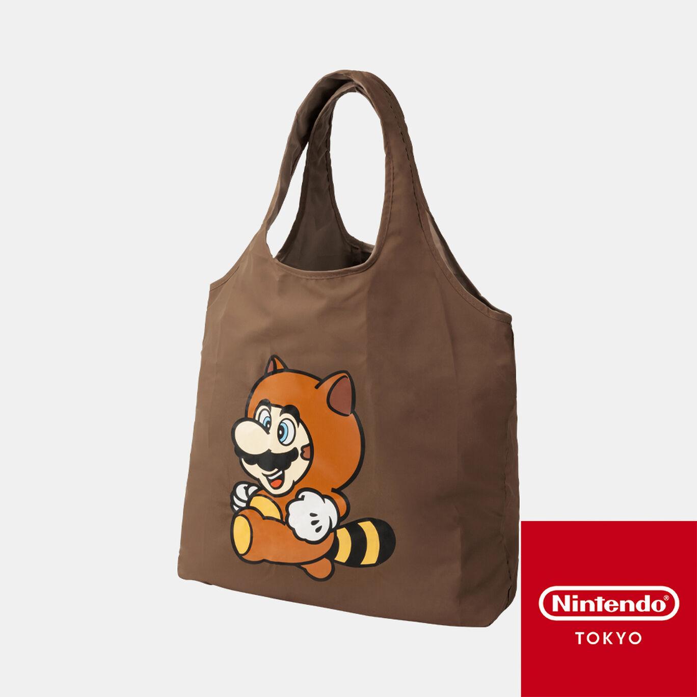 折りたたみバッグ スーパーマリオ パワーアップ C【Nintendo TOKYO取り扱い商品】