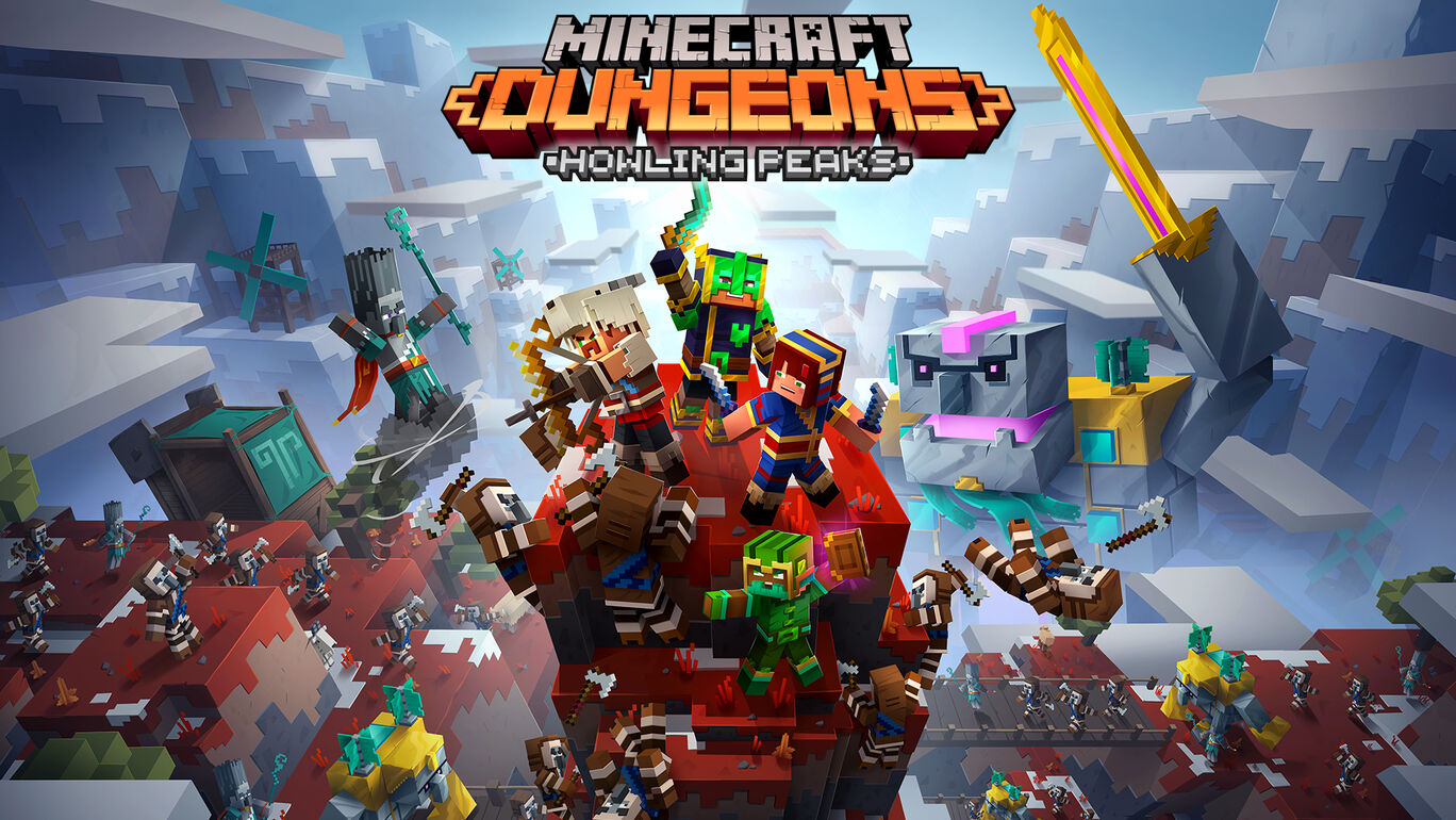 Minecraft Dungeons: Howling Peaks (荒れ狂う頂)