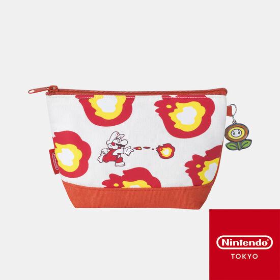 ポーチ スーパーマリオ パワーアップ A【Nintendo TOKYO取り扱い商品】