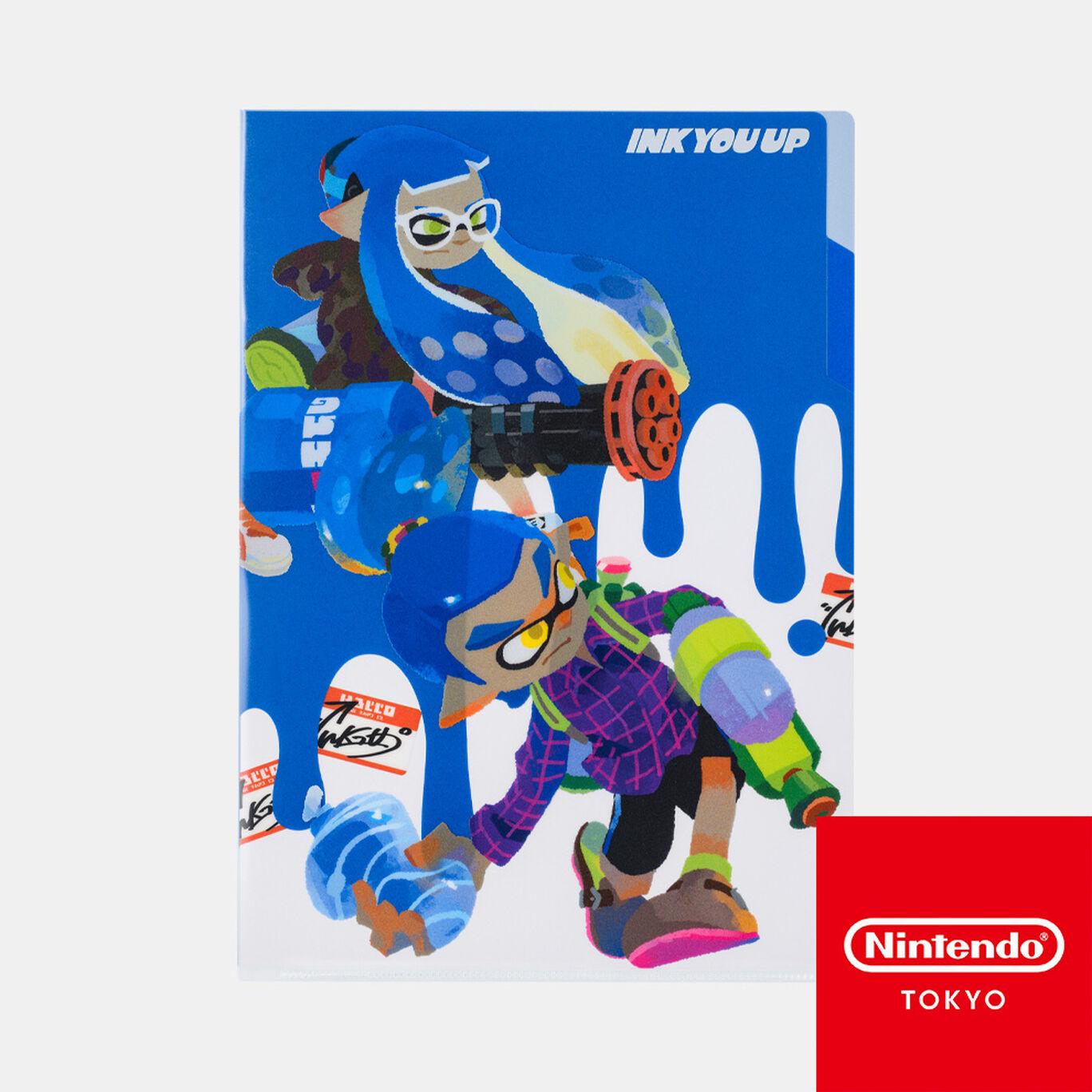 クリアファイル B INK YOU UP【Nintendo TOKYO取り扱い商品】