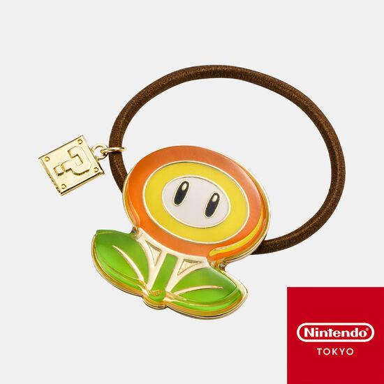 ヘアゴム スーパーマリオ ファイアフラワー【Nintendo TOKYO取り扱い商品】