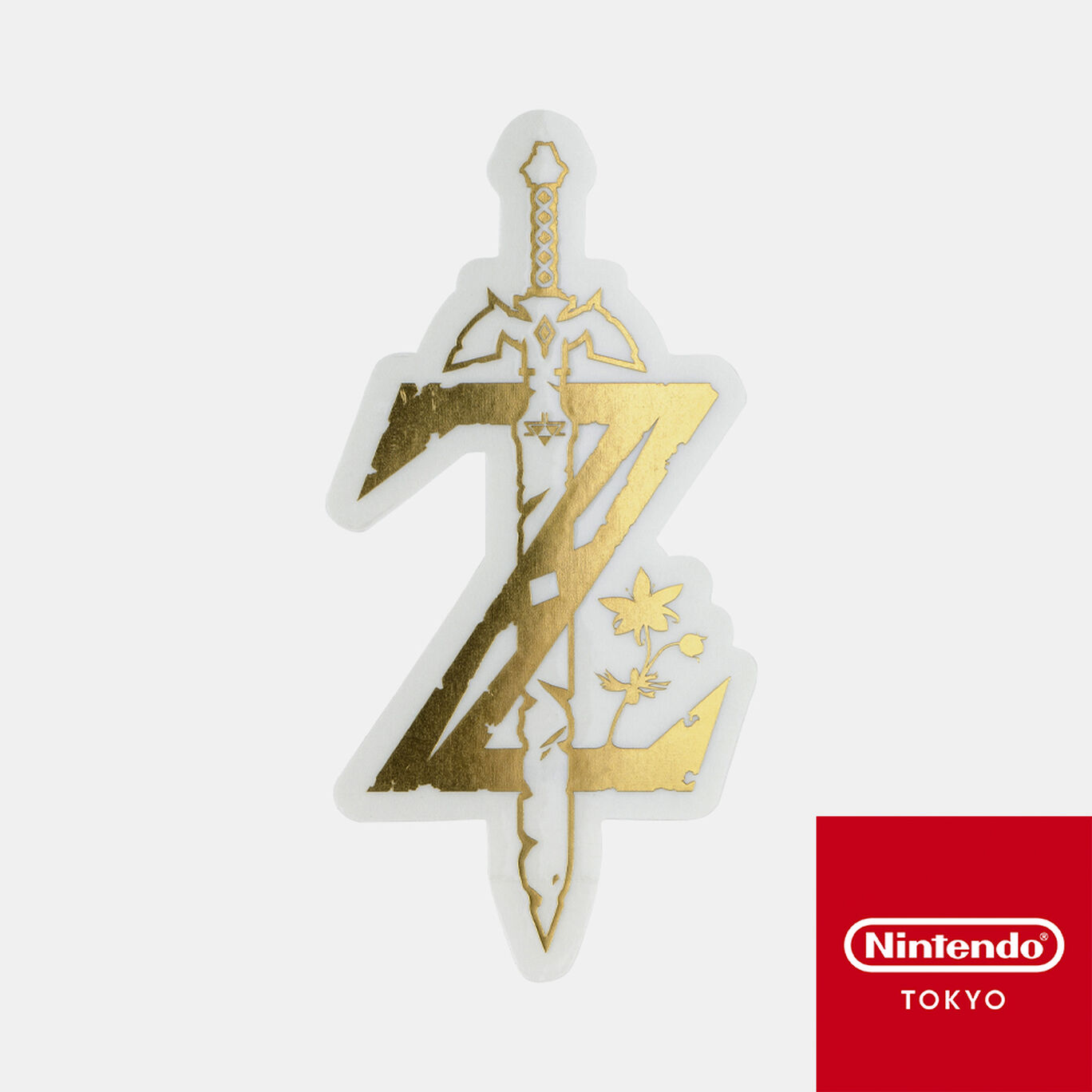 ダイカットステッカー ゼルダの伝説 C【Nintendo TOKYO取り扱い商品】