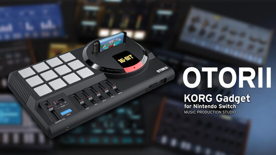 OTORII / KORG gadget for Nintendo Switch 追加音源