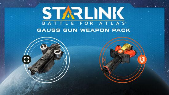 スターリンク バトル・フォー・アトラス - ウェポンパック:ガウスガン