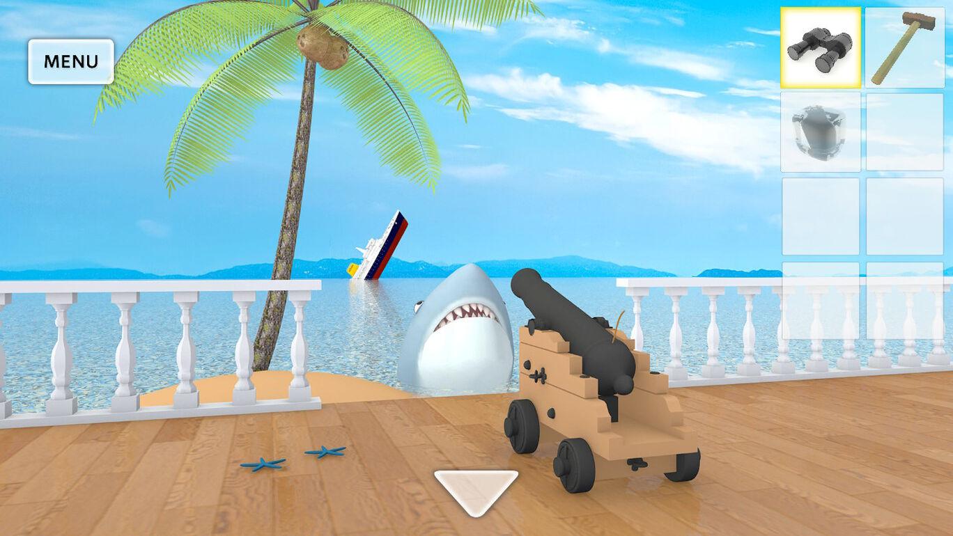 脱出ゲーム Aloha ハワイの海に浮かぶ家