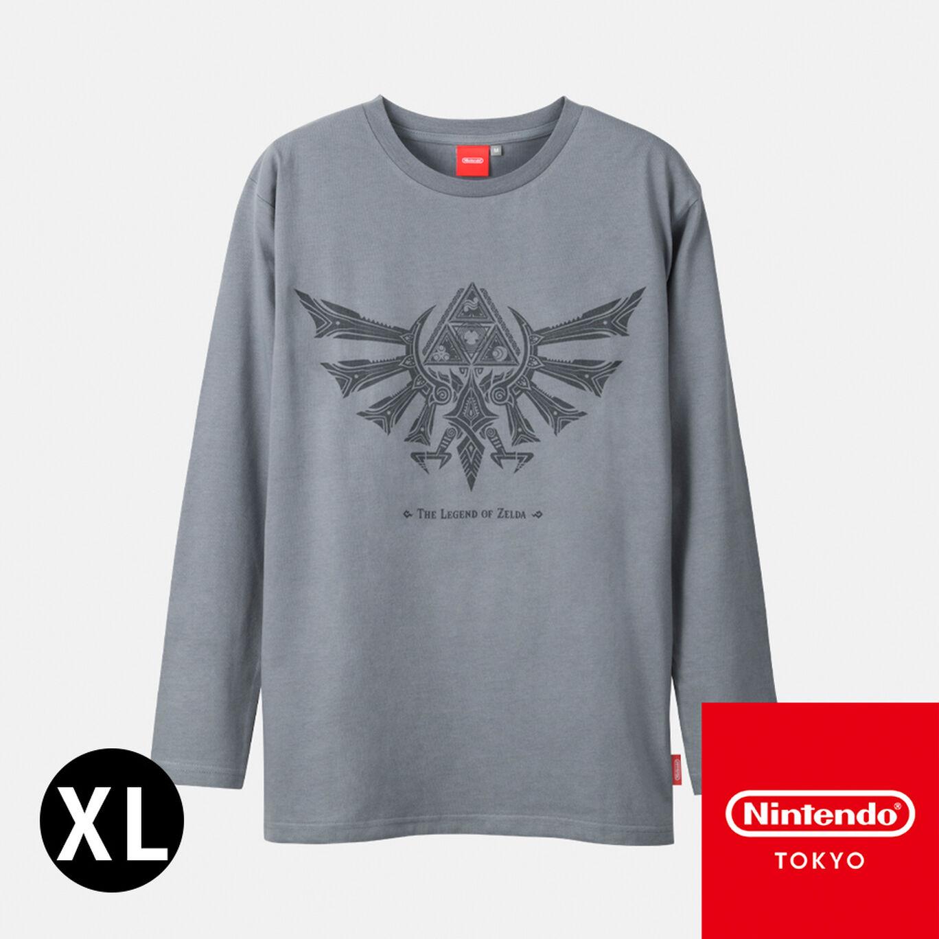 ロンT ゼルダの伝説 XL【Nintendo TOKYO取り扱い商品】