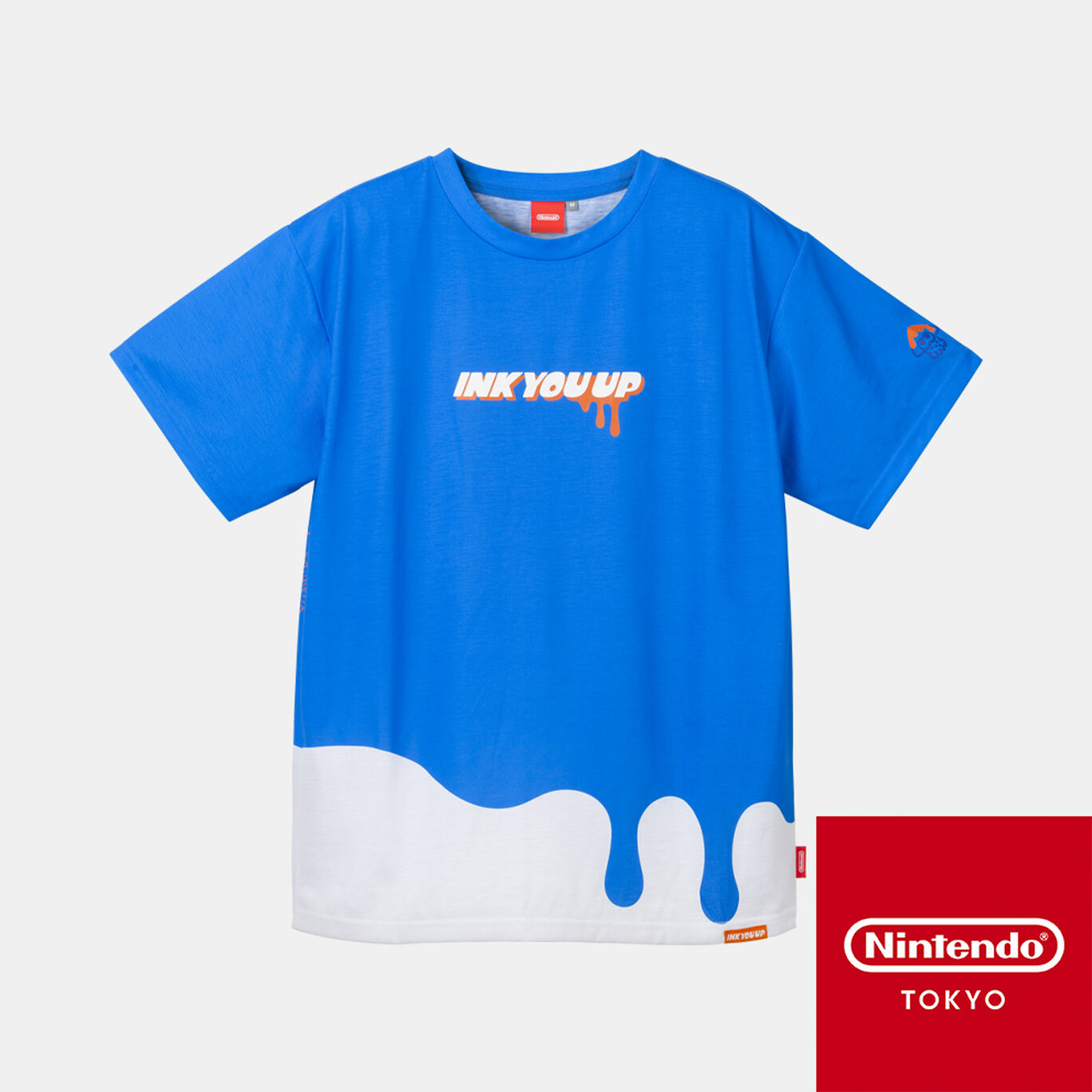 Tシャツ A S INK YOU UP【Nintendo TOKYO取り扱い商品】