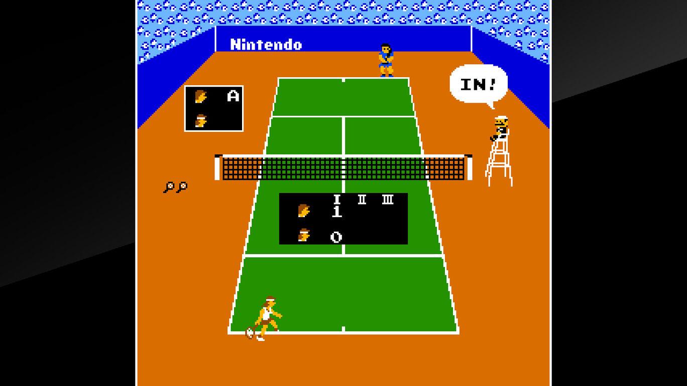 アーケードアーカイブス VS. テニス