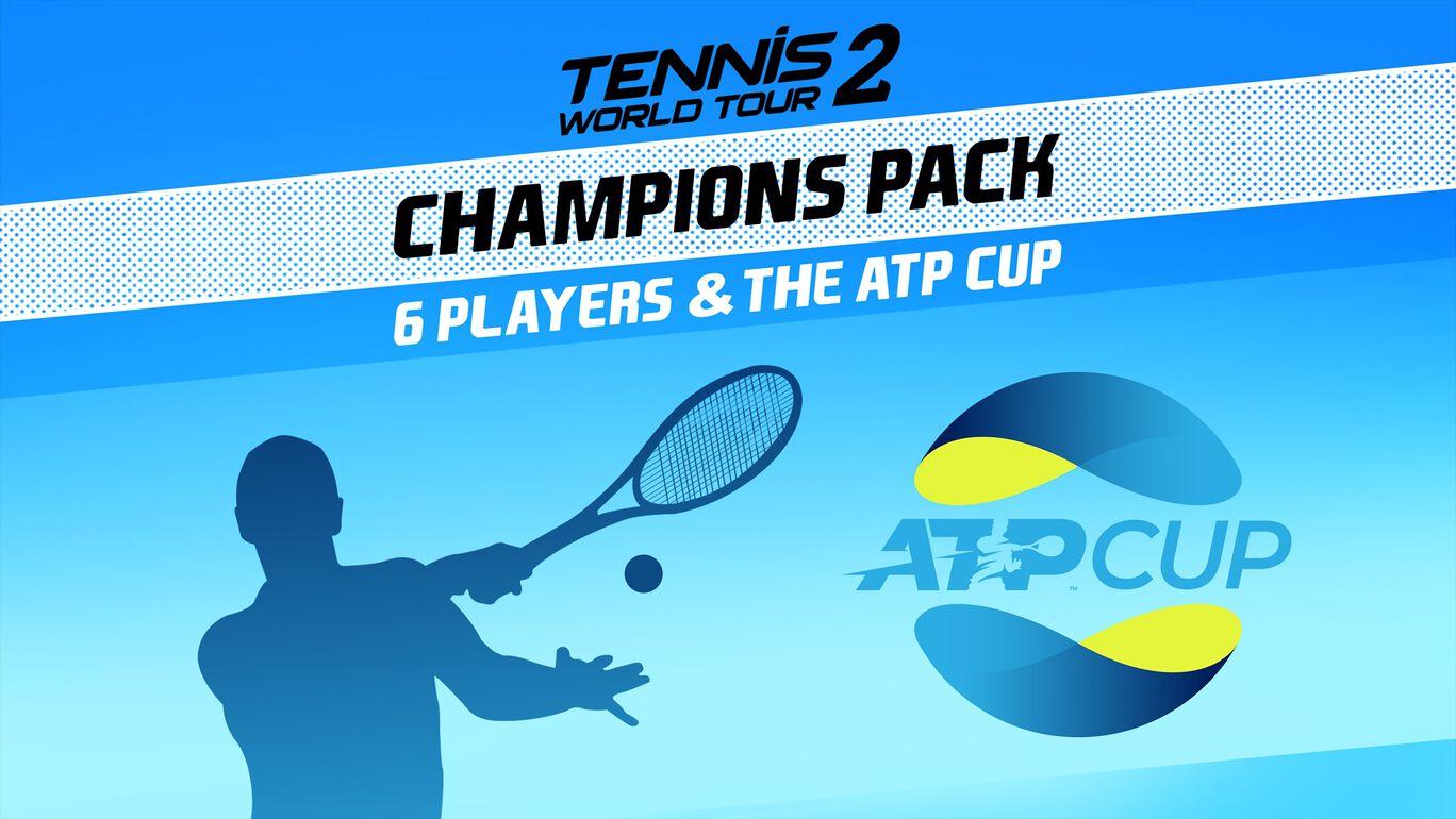 テニス ワールドツアー 2 Champions Pack