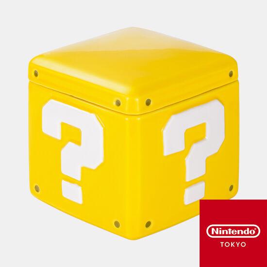 キャニスター スーパーマリオ ハテナブロック【Nintendo TOKYO取り扱い商品】
