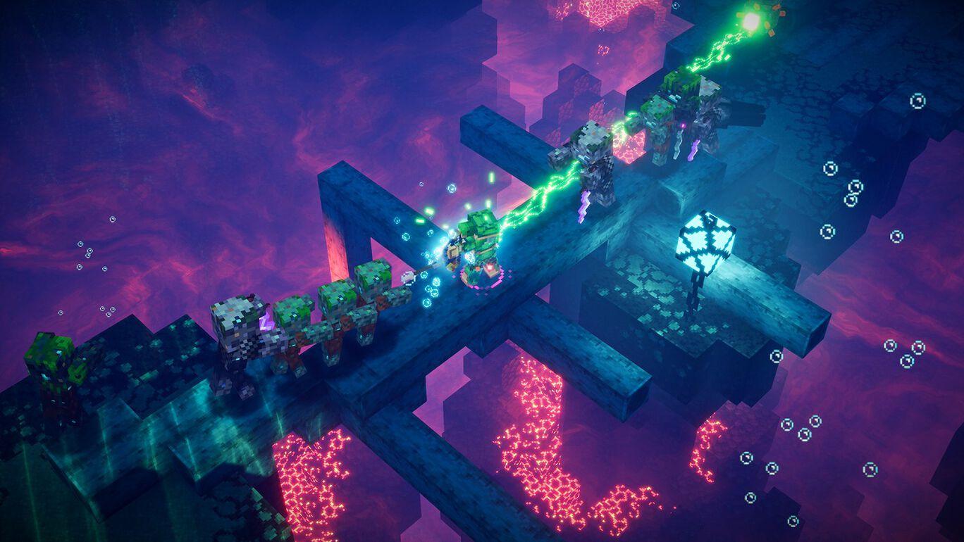Minecraft Dungeons: Hidden Depths (未知なる深海)