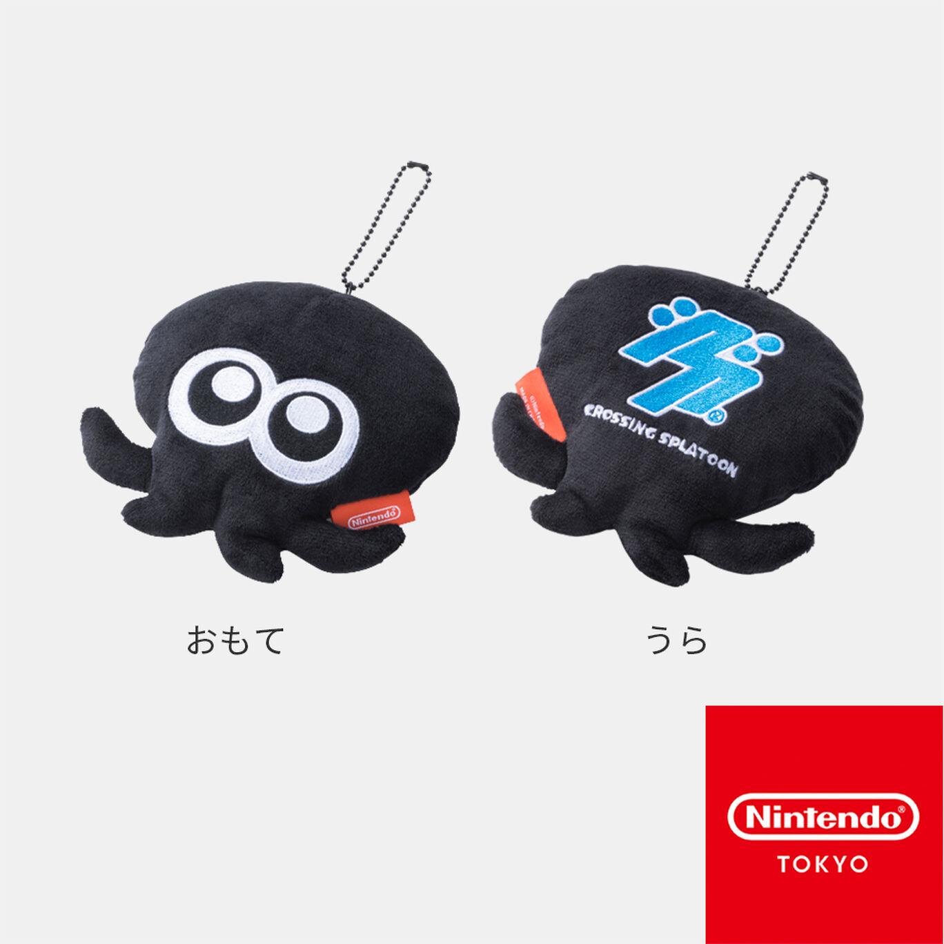 マスコット タコ CROSSING SPLATOON B【Nintendo TOKYO取り扱い商品】