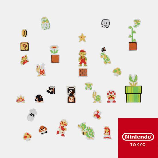 フレークシール スーパーマリオブラザーズ【Nintendo TOKYO取り扱い商品】