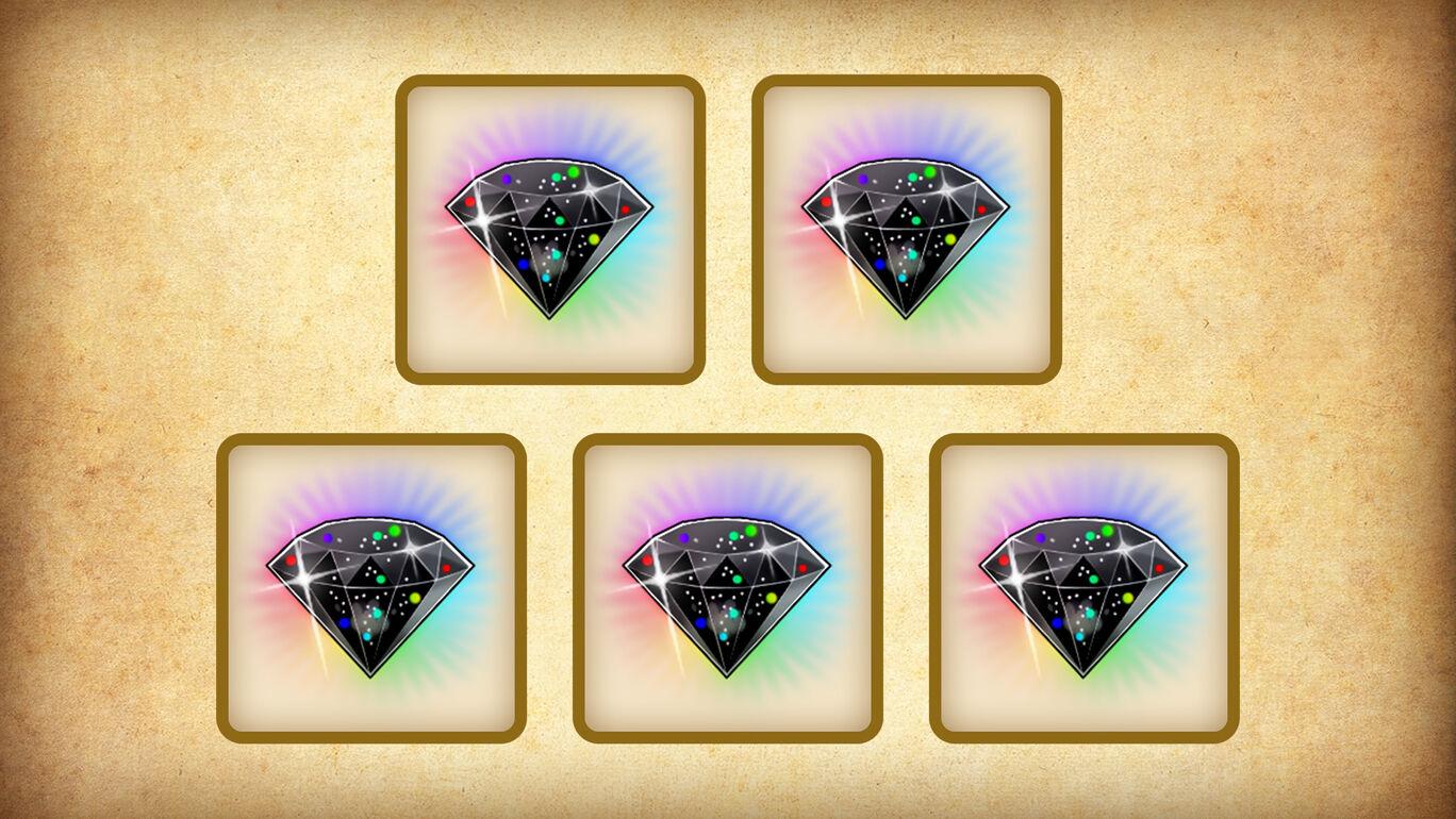 特典限定 魔水晶「成長促進ラクリマ」5個セット