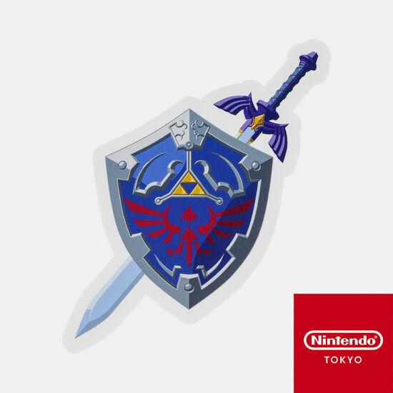 ダイカットステッカー ゼルダの伝説 D【Nintendo TOKYO取り扱い商品】
