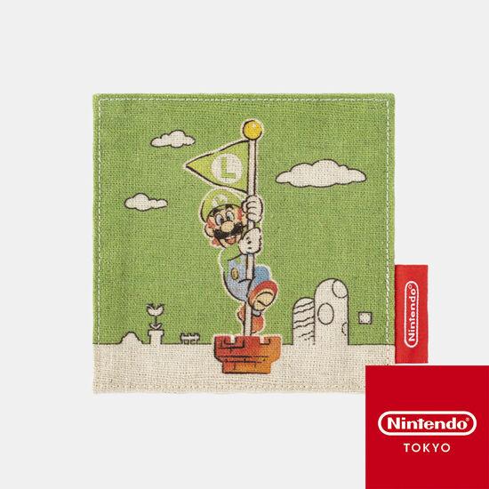 コースター スーパーマリオファミリーライフ ルイージ【Nintendo TOKYO取り扱い商品】