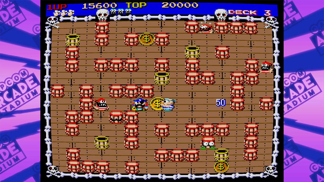 Capcom Arcade Stadium:ひげ丸