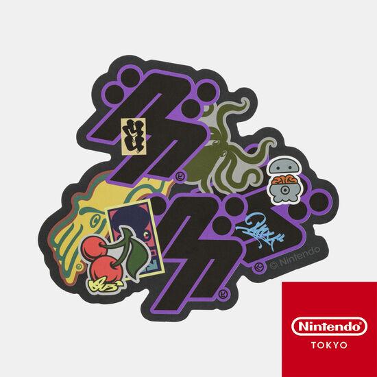 ステッカー CROSSING SPLATOON H【Nintendo TOKYO取り扱い商品】