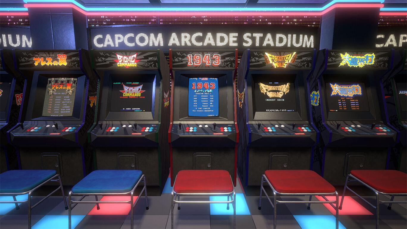 Capcom Arcade Stadium:無敵プレイ