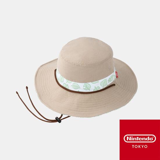 ハット あつまれ どうぶつの森【Nintendo TOKYO取り扱い商品】