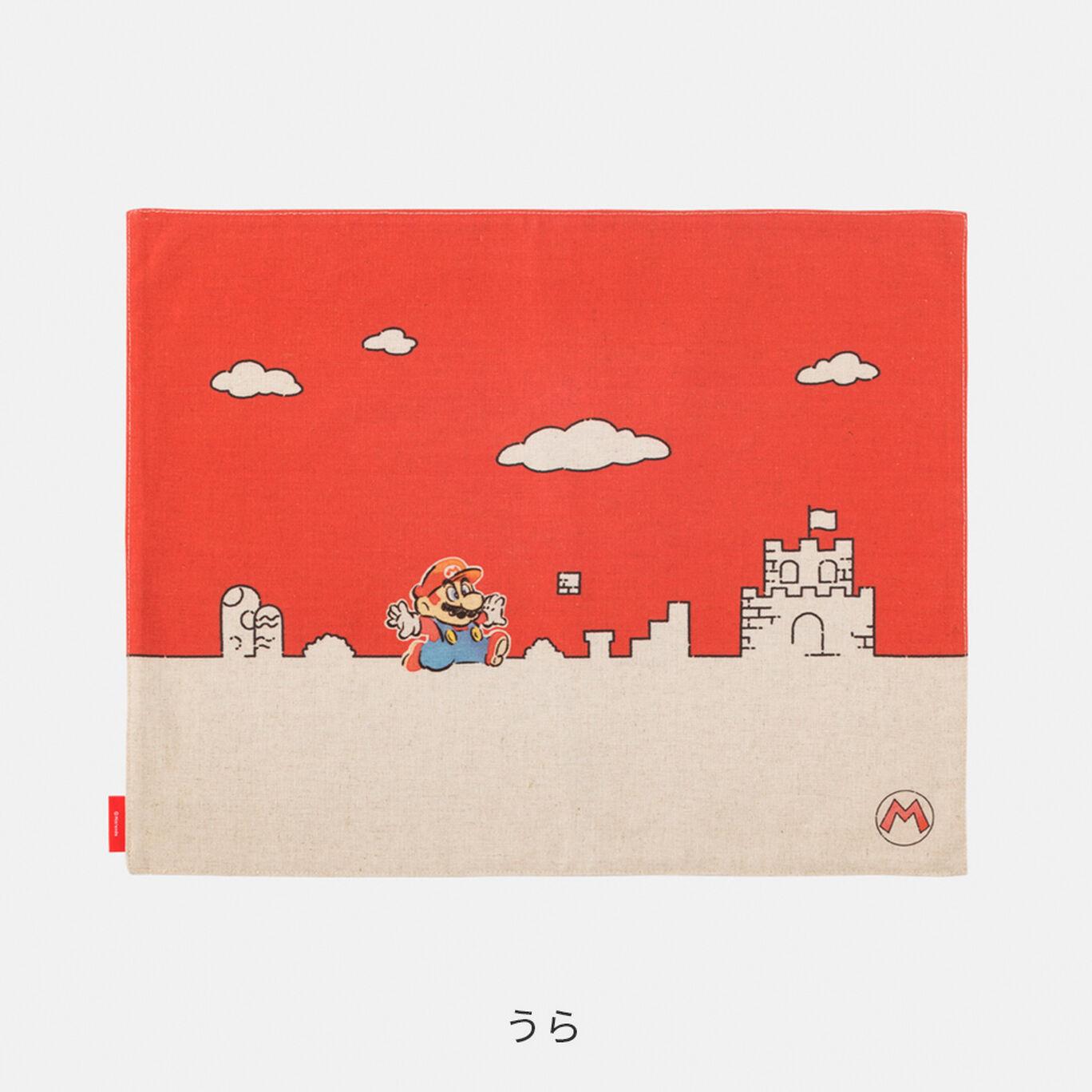 ランチョンマット スーパーマリオファミリーライフ マリオ【Nintendo TOKYO取り扱い商品】