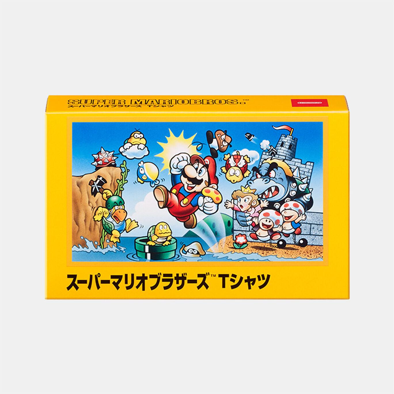 Tシャツ スーパーマリオブラザーズ S【Nintendo TOKYO取り扱い商品】