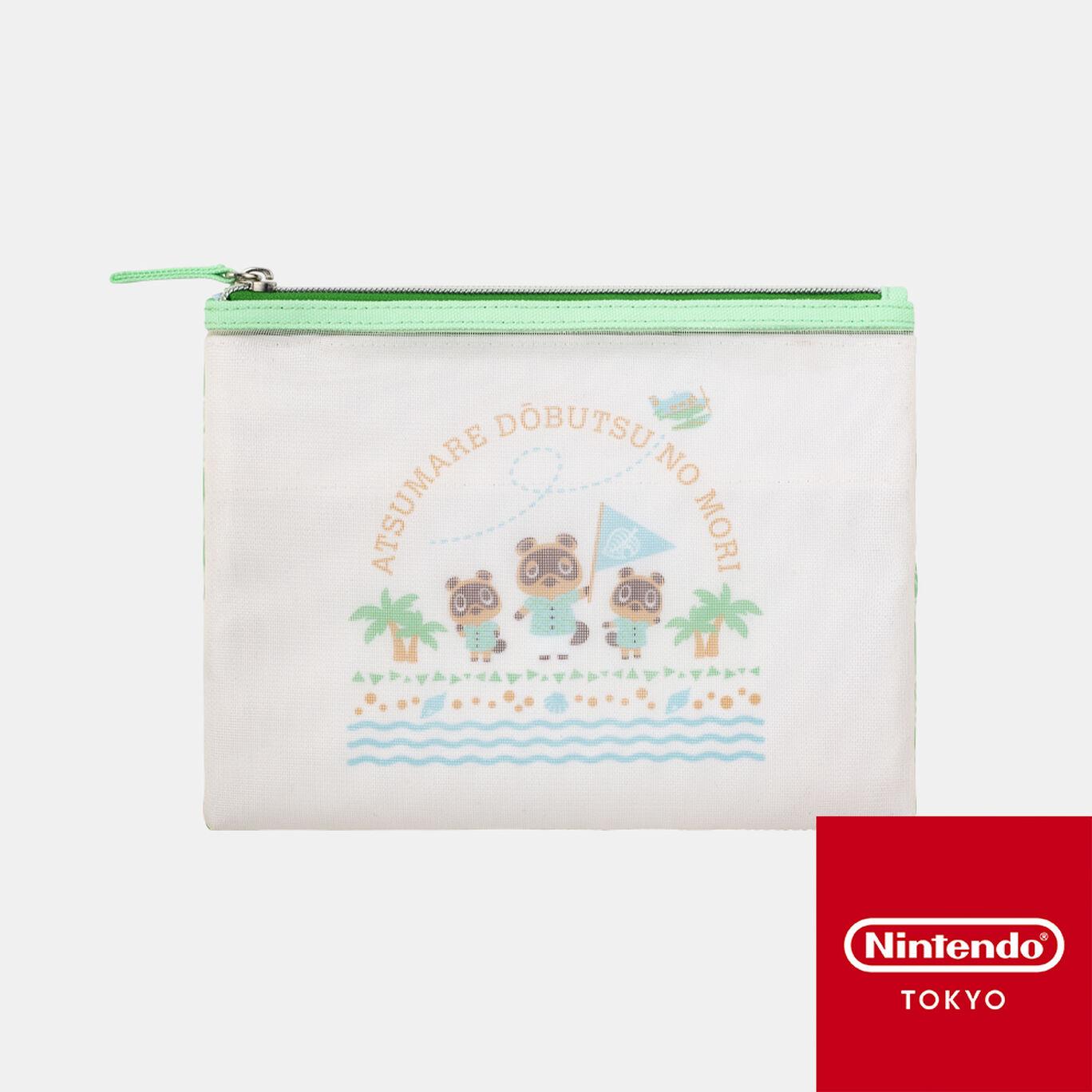 メッシュポーチ あつまれ どうぶつの森【Nintendo TOKYO取り扱い商品】