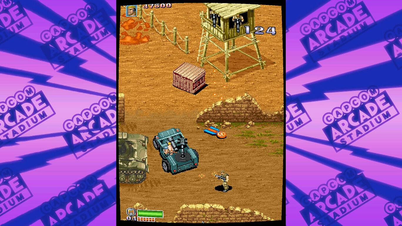 Capcom Arcade Stadium:戦場の狼Ⅱ