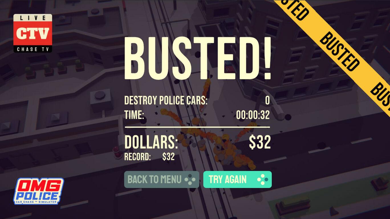 OMG Police - Car Chase TV Simulator   オムグポリス