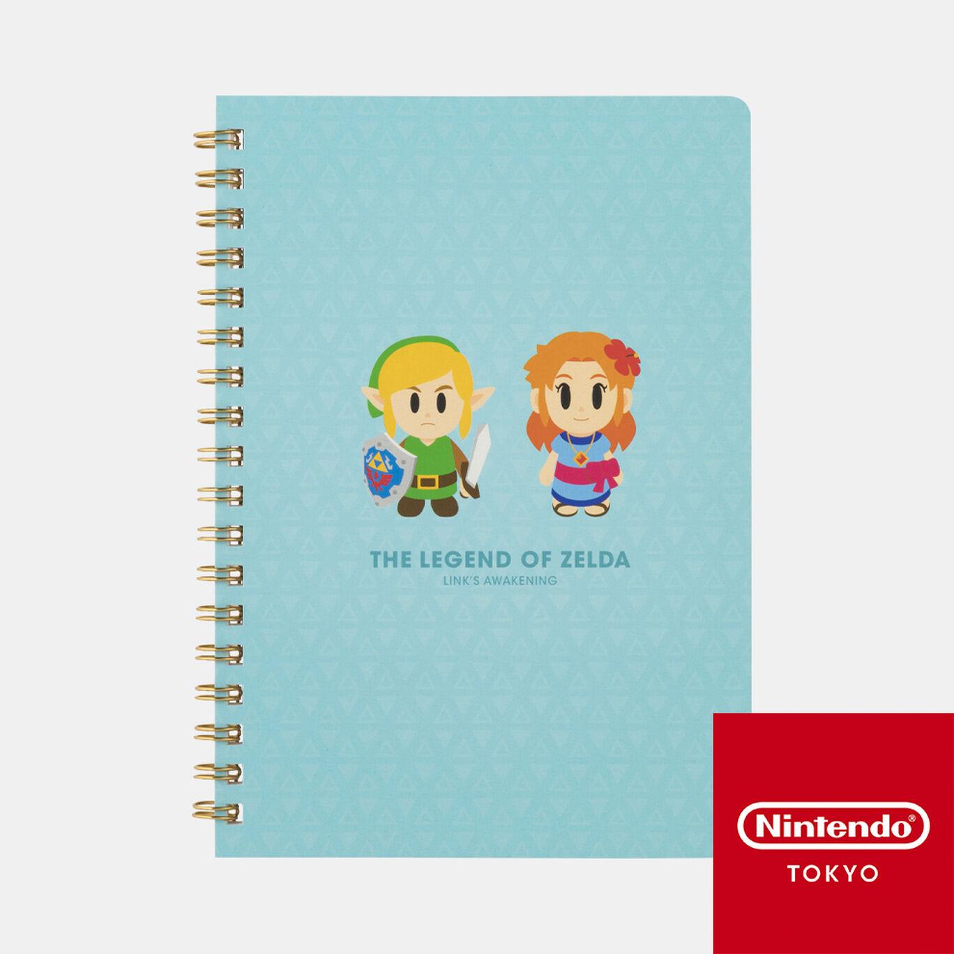 ノート ゼルダの伝説 夢をみる島【Nintendo TOKYO取り扱い商品】