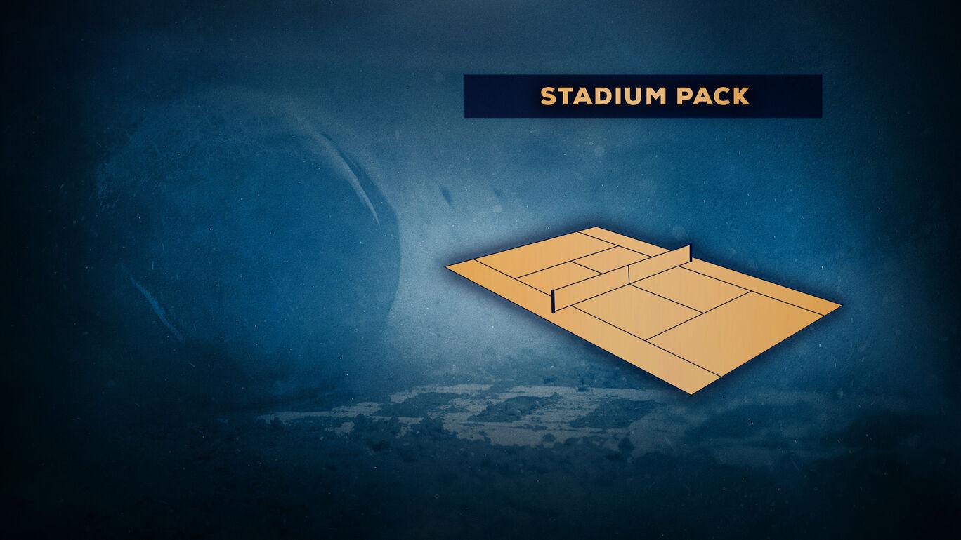 テニス ワールドツアー 追加スタジアムパック