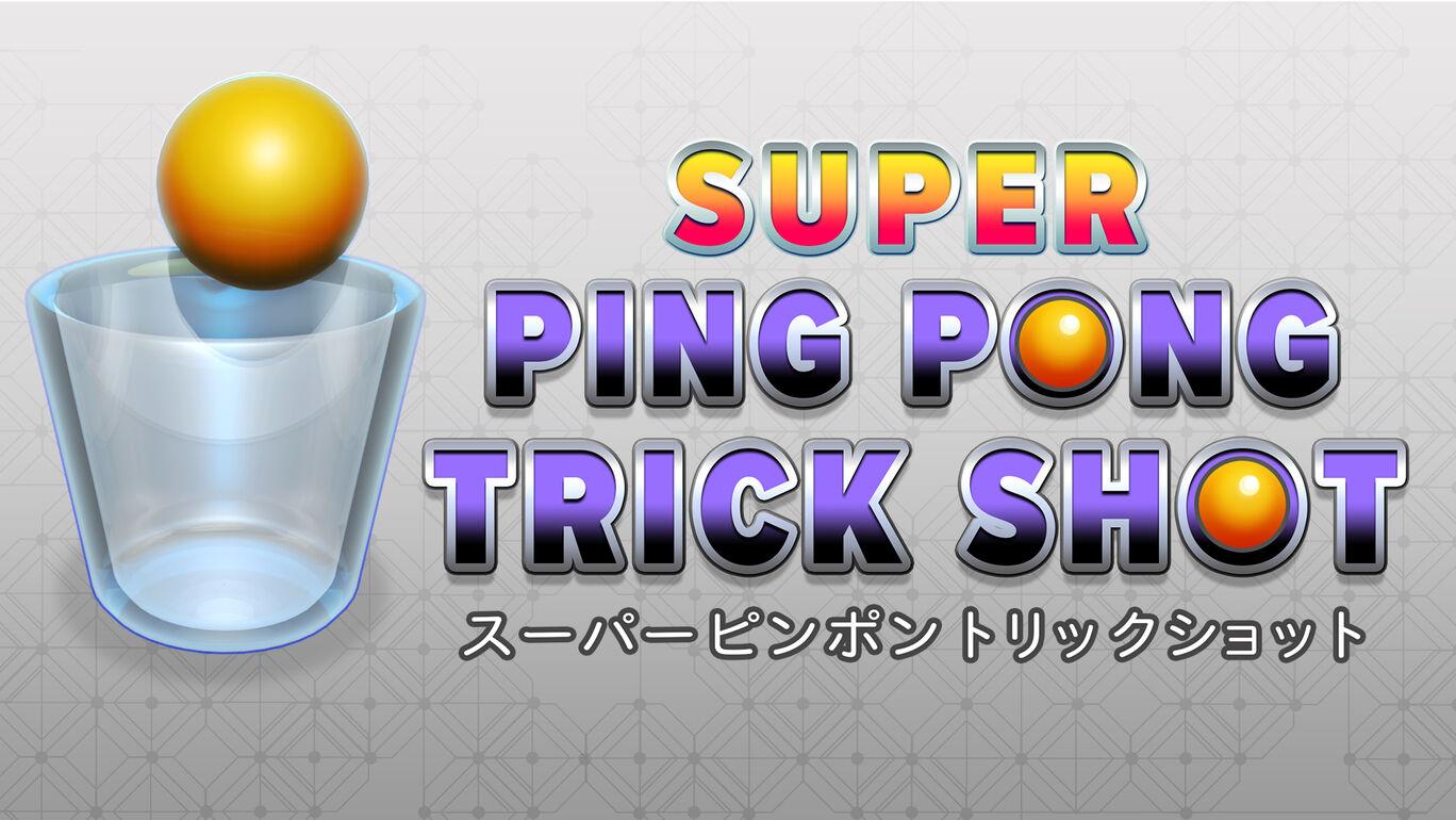 SUPER PING PONG TRICK SHOT