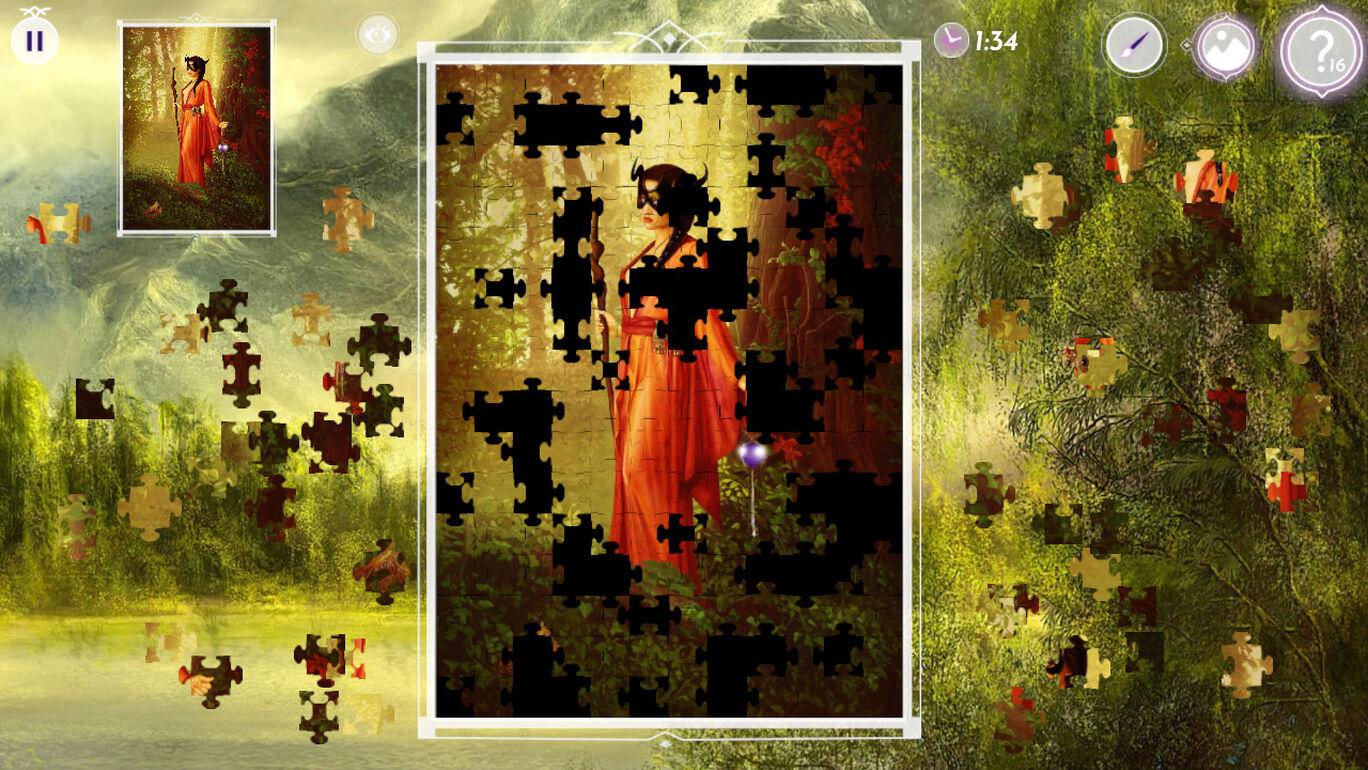 Dark Fantasy: Jigsaw Puzzle 2