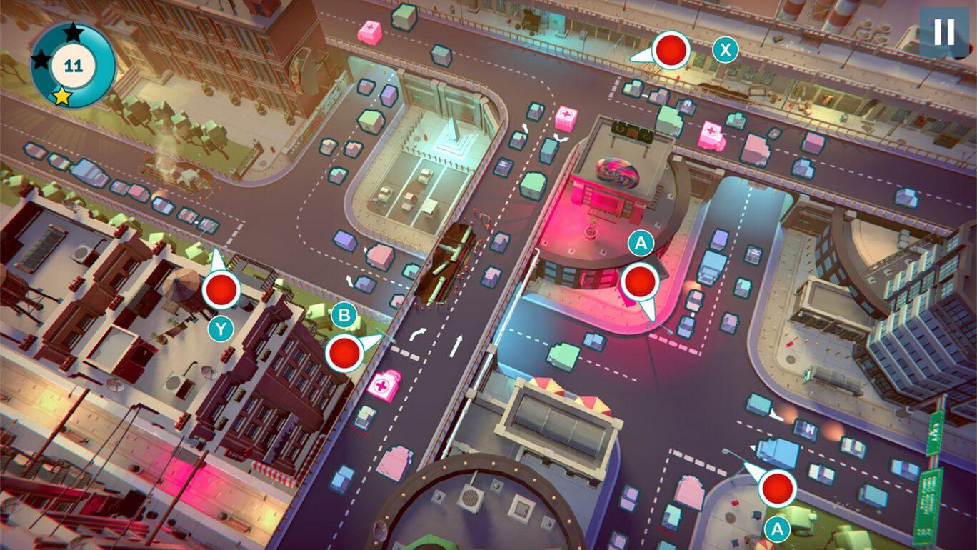Urban Flow: 交通パニック- 拡張版
