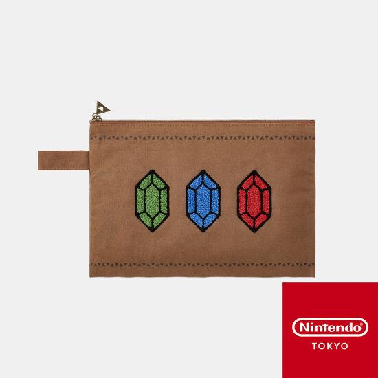 ポーチ ゼルダの伝説【Nintendo TOKYO取り扱い商品】
